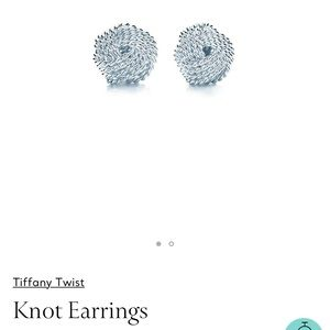 Tiffany and Co knot earrings !